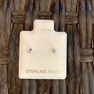 Sterling Silver 3mm Studs Earrings